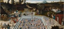 """The Fountain of Youth"" by Lucas Cranach the elder (1546)."