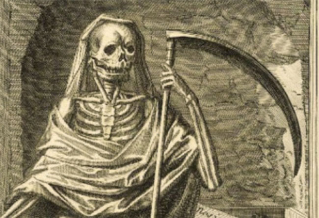 La Mort by Henri Bonnart III