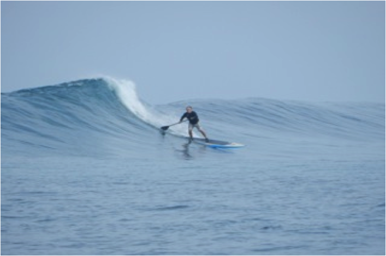 """Dr. """"Mr. Bill"""" Outer Reef, Tongos, 2012"""