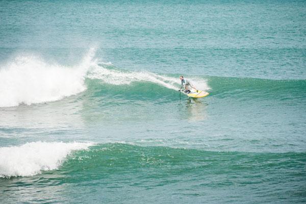 Bill Jones in fine form at Punta Miramar